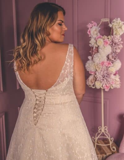 sparkly wedding gown plus size