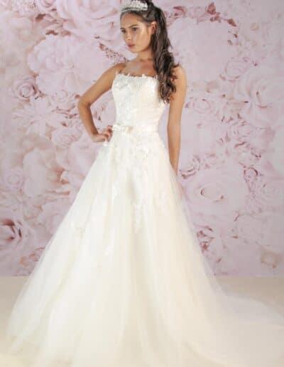 Victoria Kay tulle wedding dress