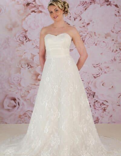 Victoria Kay lace wedding dress